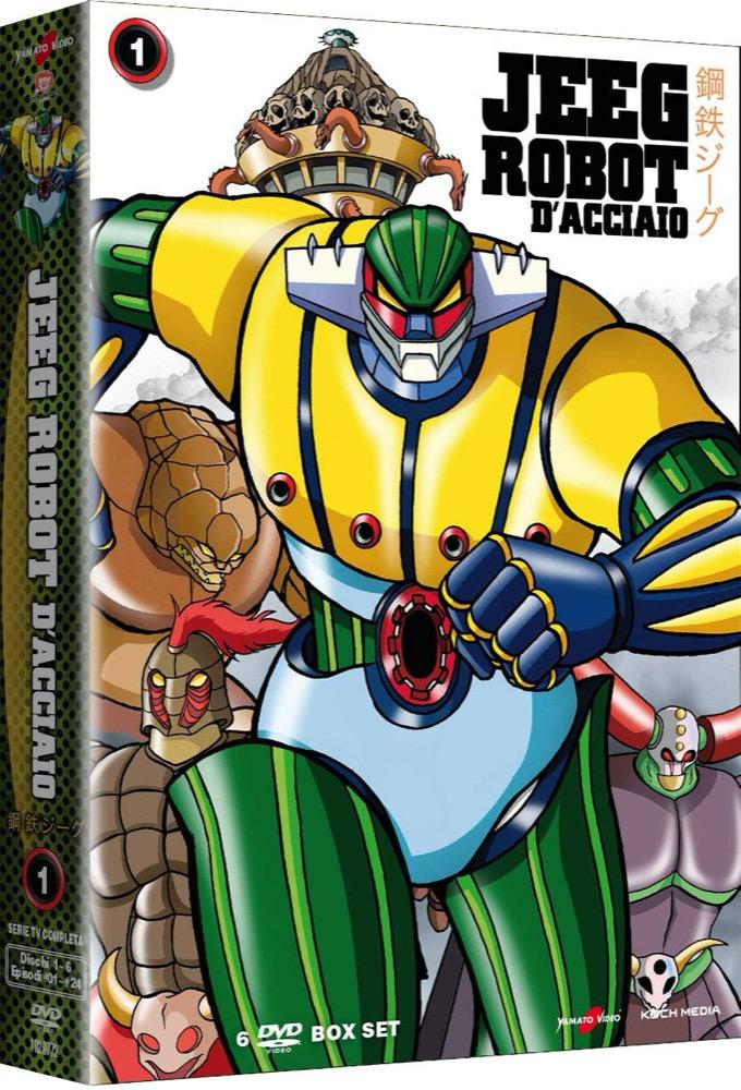 Jeeg Robot d' acciaio Kotetsu Jeeg Serie TV