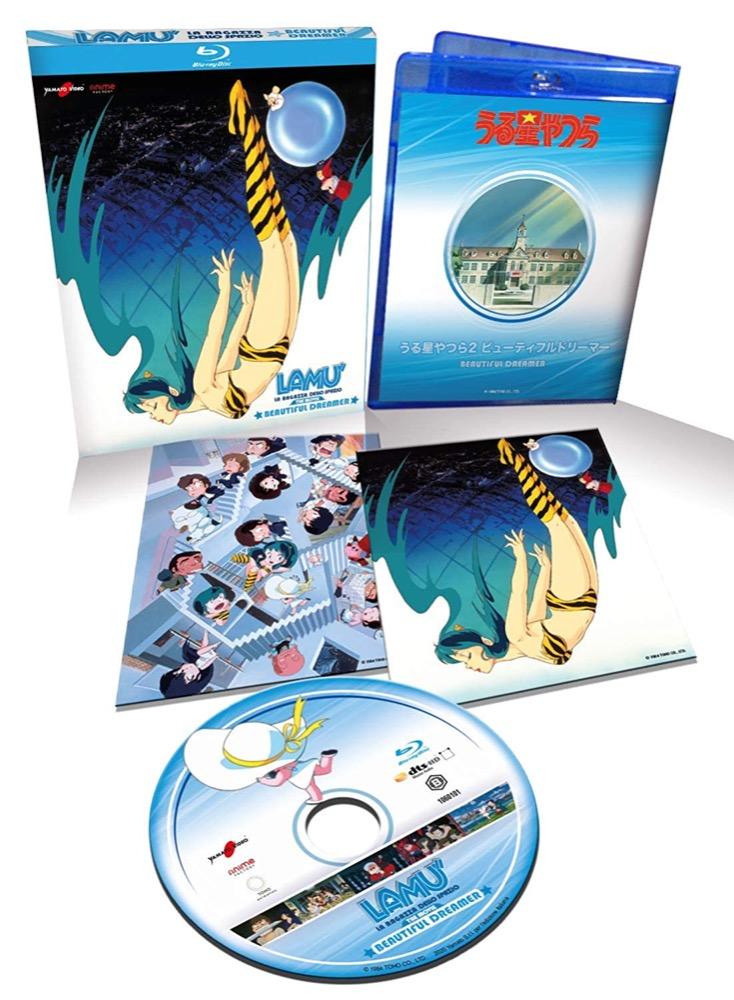 Lamù La Ragazza dello Spazio Beautiful Dreamer The movie 2